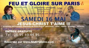 Feu et gloire 16 mai
